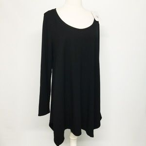 Isabel Maternity XL Black Long Sleeve Knit Top
